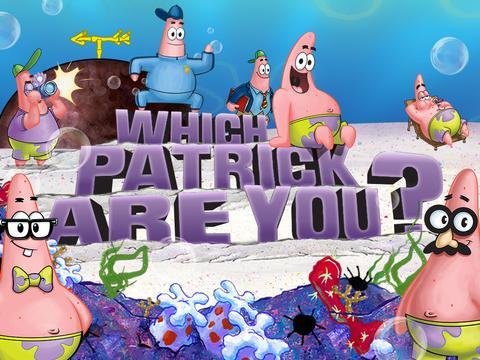 SpongeBob SquarePants: Which Patrick Are You?