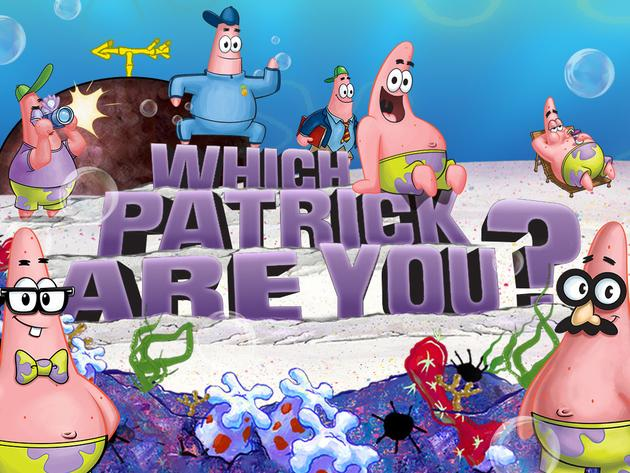 SpongeBob SquarePants: Which Patrick Are You?