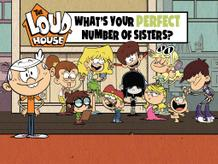 Loud House: What's Your Perfect Number of Sisters?
