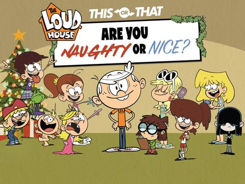 The Loud House: Are You Naughty or Nice?