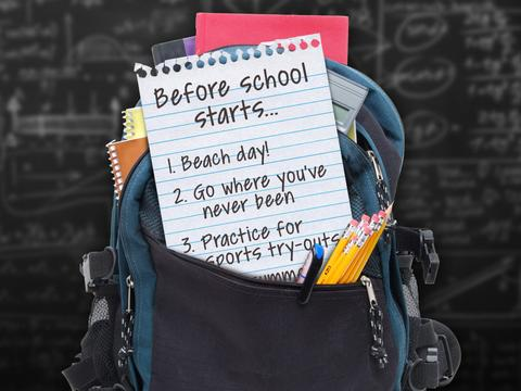 "100 Things to Do Before High School: ""5 Things to Do for Back to School"""