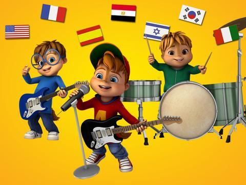 ALVINNN!!! e Os Esquilos: Alvin em 7 línguas