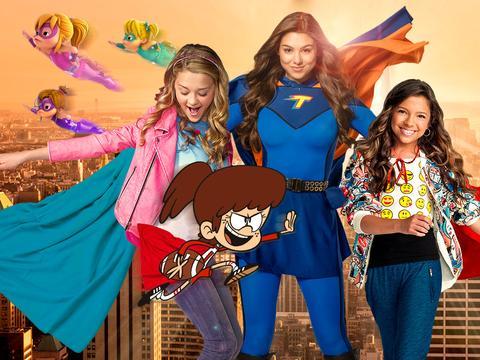 """""""Nickelodeon Heroines!"""""""