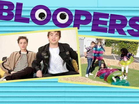 Behind the Scenes Bloopers!