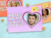 """Corny Valentine's Day Cards"""