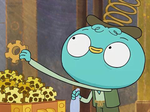 "Harvey Beaks: ""The Steampunk Song"""