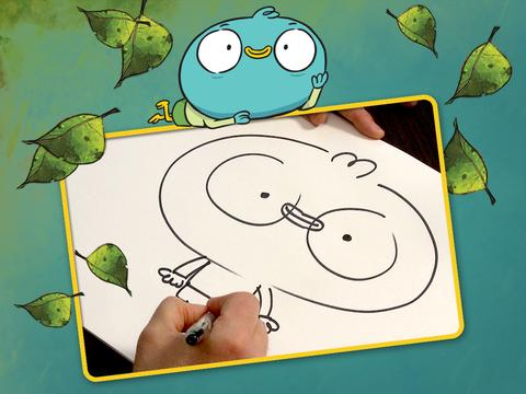 """Harvey Beaks: """"How to Draw Harvey"""""""