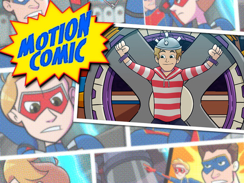 HENRY DANGER | SHORT | Henry Danger Comic #12: Super-poderes do Schwoz