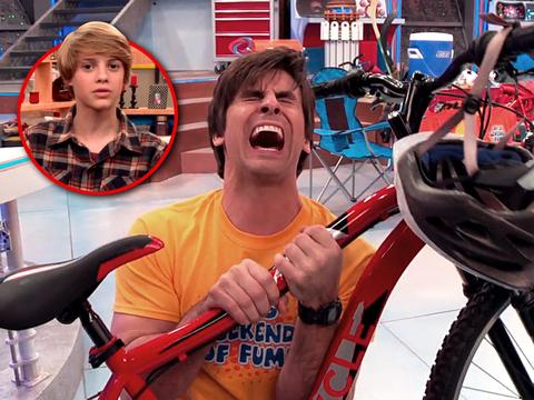 "Henry Danger: ""The 5 Stages Of Learning How To Ride a Bike"""