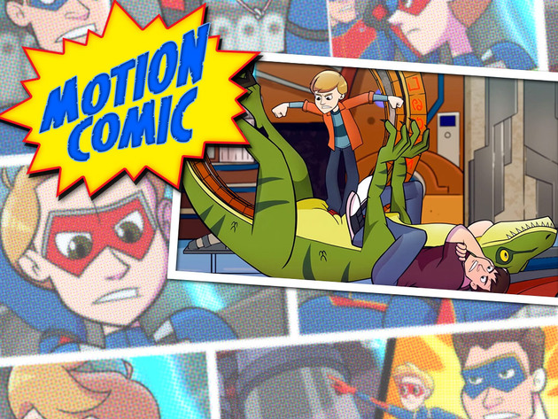 HENRY DANGER | SHORT | Henry Danger Comic: Arrastrado Al Futuro