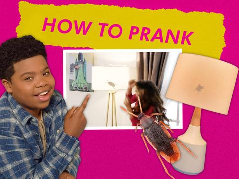 "Game Shakers: ""How To Prank: Bugging Out"""