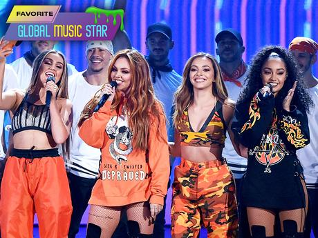 KCA 2017 - Little Mix gagne le prix de la Star musicale internationale préférée