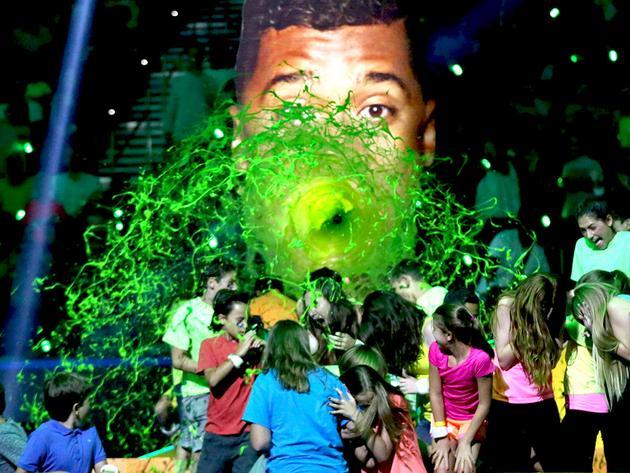 "Kids' Choice Sports 2015: ""Drop Shot Sliming"""