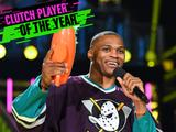 Kids' Choice Sports 2017: Russell Westbrook Wins Clutch Player of the Year!