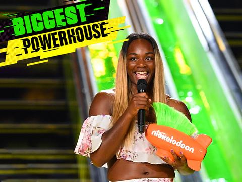 Kids' Choice Sports 2017: Claressa Shields Wins Biggest Powerhouse!
