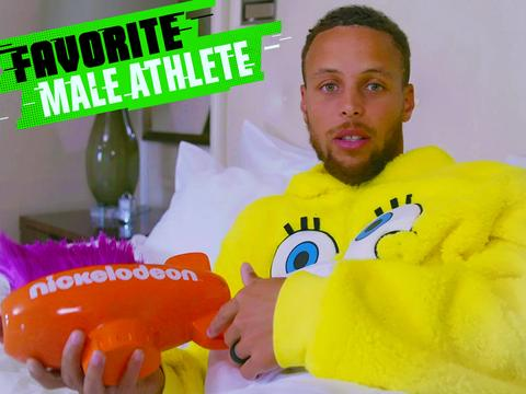 Kids' Choice Sports 2017: Stephen Curry Wins Favorite Male Athlete!