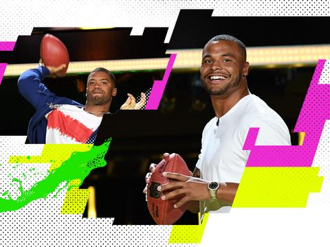 Kids' Choice Sports 2017: Russell Wilson vs. Dak Prescott