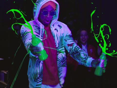 Kids' Choice Sports 2017: Nick Cannon Does the Slime Shuffle
