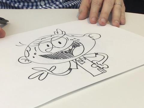 "The Loud House: ""How to Draw Lincoln"""