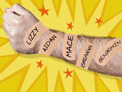 Bandage Rip Off Challenge!
