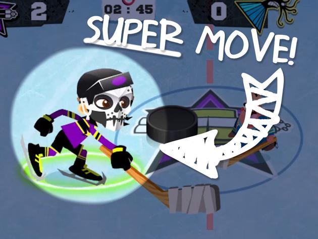 """Teenage Mutant Ninja Turtles: """"NickGamer: Hockey Stars"""""""