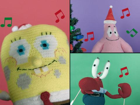 "SpongeBob SquarePants: ""Holiday Acapella!"""