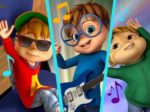 """Alvin and the Chipmunks: """"Rhyming with the Chipmunks"""""""