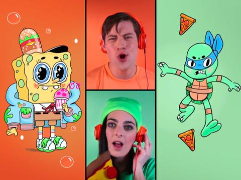 Acapella Theme Song Battle: SpongeBob SquarePants and Teenage Mutant Ninja Turtles