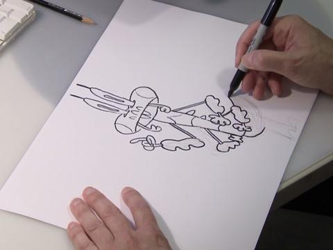 "Pig Goat Banana Cricket: ""How to Draw Cricket"""