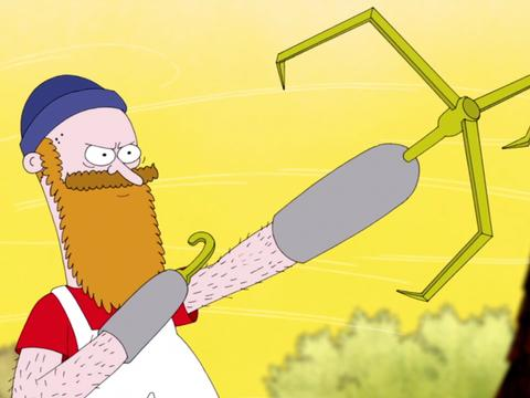 "Sanjay and Craig: ""Chrome Dome: Don't Blow Your Top"""