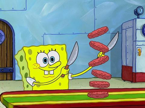 "SpongeBob SquarePants: ""Homemade Krabby Patties"""