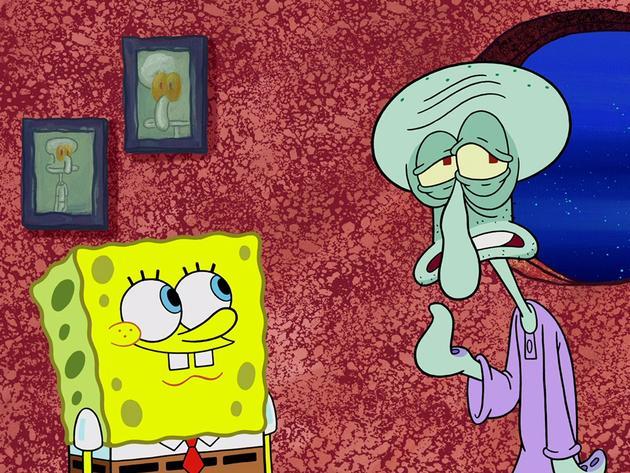 "SpongeBob Square Pants: ""Sleep Little Squid"""