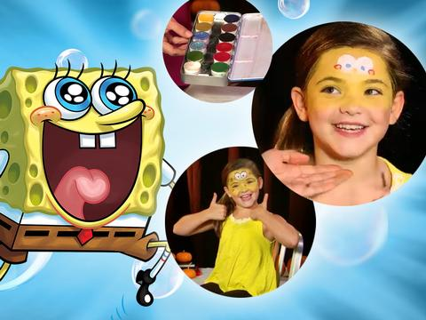 "SpongeBob SquarePants: ""SpongeBob Makeup Tutorial"""