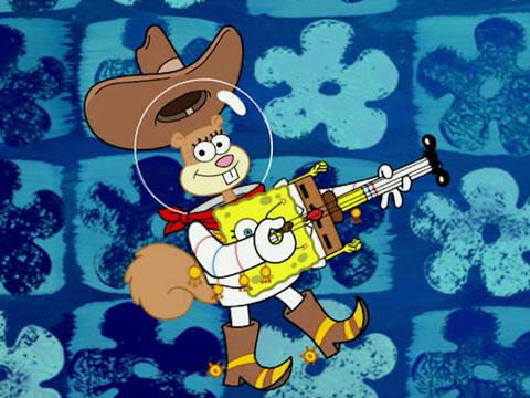 """SpongeBob SquarePants: """"Squirrel Appreciation"""""""