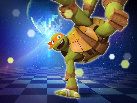 Ninja Turtles Dance Party!