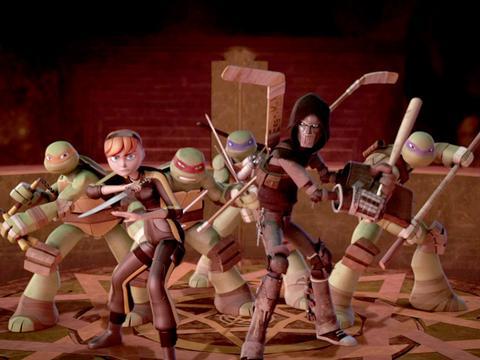 """Teenage Mutant Ninja Turtles: """"Shredder is Back!"""""""