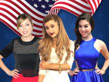 Stars Rocking Red, White and Blue!