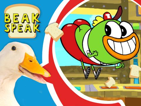 "Breadwinners: Beak Speak: ""Booty Kick"""