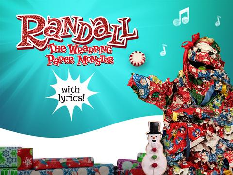 Randall The Wrapping Paper Monster with Lyrics