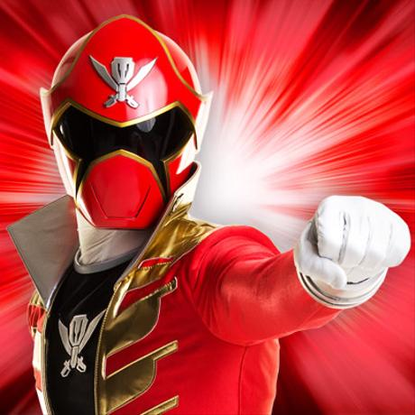 The Red Ranger from Power Rangers: Megaforce | Nick.com