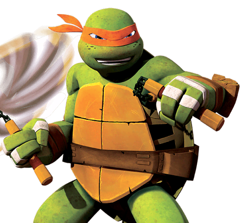 Ninja turtle michelangelo weapon - photo#21