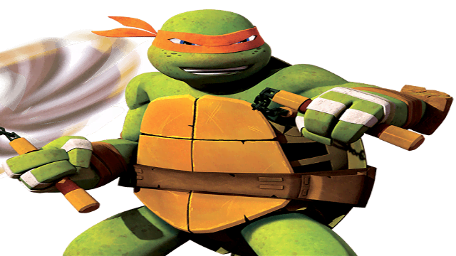 Michelangelo From Teenage Mutant Ninja Turtles Cartoon