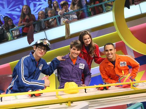 BTR, Ciara Bravo and Matt Bennett on Figure It Out!