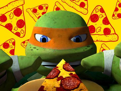 LAS TORTUGAS NINJA | SHORT | ¡Pizza... estilo NINJA!