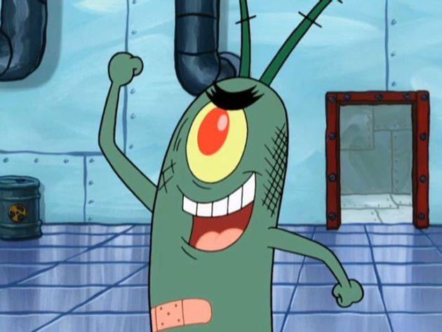 Spongebob: Vittoria per Plankton!
