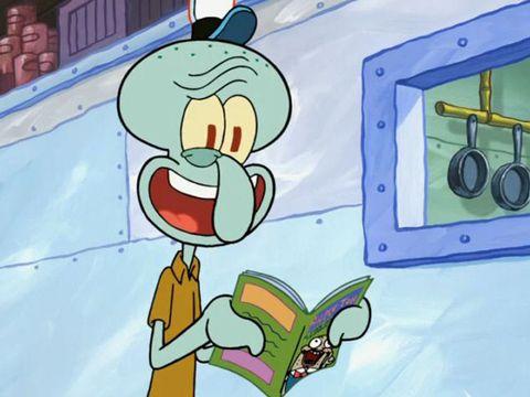 Spongebob: Facce da Squiddy
