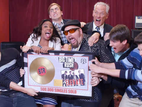 BIG TIME RUSH | S3 | Episódio 311 | Big Time Rush - O Disco de Ouro do Big Time Rush