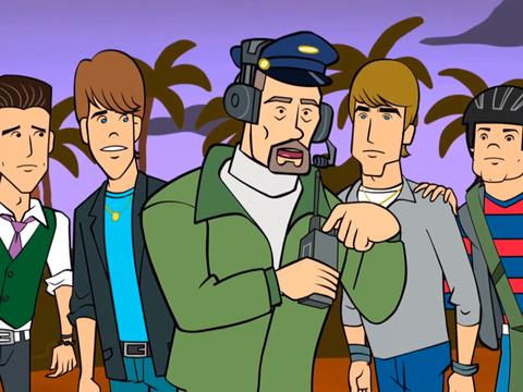 "Big Time Rush: ""Big Time Animated Adventure"""