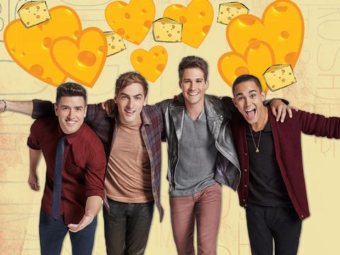BTR Loves Cheese!