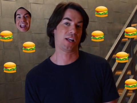 Jerry Trainor: Hamburger Hero!